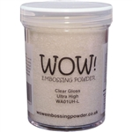 Wow! Embossing Powder Clear Gloss Ultra High 160 mL