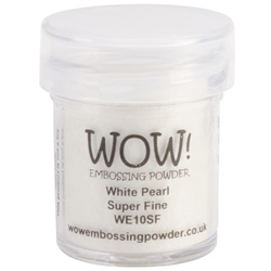 Wow! Embossing Powder Super Fine White Pearl