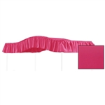 Full Size Hot Pink Solid Canopy Fabric Top for an Existing Canopy Bed Frame