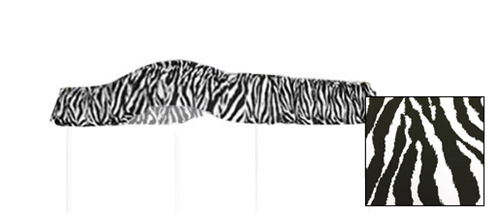 Full Size Zebra Print Canopy Fabric Top canopy bed fabric canopy bedroom canopy bed canopies girls & thefurniturecove.com specializes in canopy bed drape fabric tops - Full ...