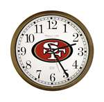 New Clock w/ San Francisco 49ers NFL Team Logo