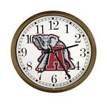 New Clock w/ Alabama Crimson Tide NCAA Team Logo