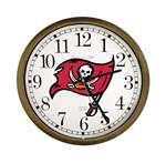 New Clock w/ Tampa Bay Buccaneers NFL Team Logo