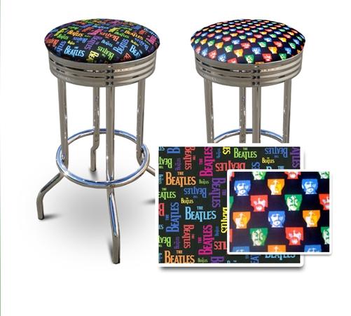 Phenomenal 2 24 The Beatles Specialty Custom Barstools Set Evergreenethics Interior Chair Design Evergreenethicsorg