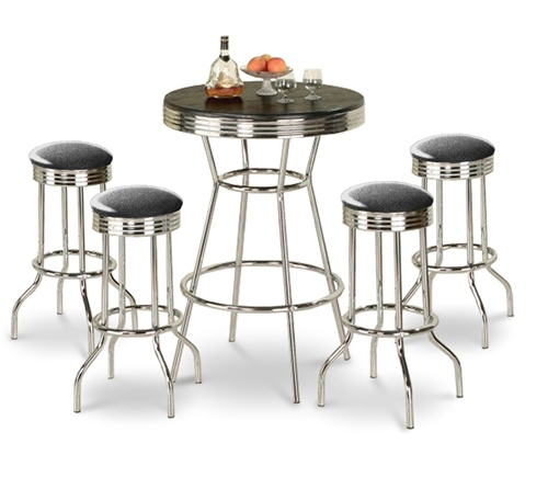 Black Glitter Sparkle Barstools Chrome Table White Round Bar Stools Stool Swivels Foot Rest Ring