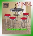 red vinyl hot rod barstools chrome table black white round bar stools stool swivels foot rest ring cushion seat cave man chair chairs diner metal dining finish pad padded pub pubstools restaurant