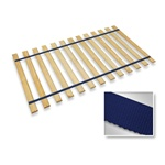 Dark Blue Strap Full Size Bed Slats Support / Bunkie Board