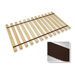 Brown Strap Full Size Bed Slats Support / Bunkie Board