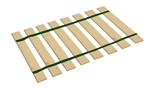 Dark Green Strap Full Size Bed Slats Support / Bunkie Board