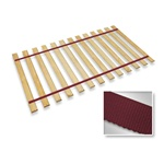 Maroon Strap Full Size Bed Slats Support / Bunkie Board