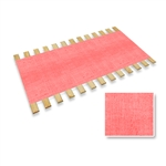 Pink Burlap Strap Full Size Bed Slats Support / Bunkie Board