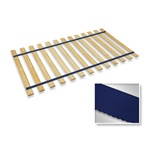 Dark Blue Strap Twin Size Bed Slats Support / Bunkie Board