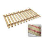 Burlap Strap Twin Size Bed Slats Support / Bunkie Board