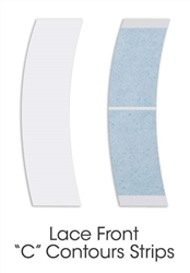 Lace Front Tape | Blue Liner Tape