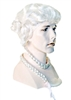 Ichabod Crane Colonial Dandy Wig
