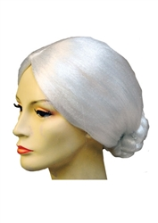 Bargain Old Lady Bun Wig - Costume wigs