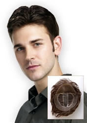 Men's Hair Toupee | Lace Front Toupee
