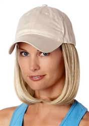 Classic Hat Beige Hairpieces by Henry Margu Wigs