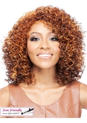 Curly Synthetic Wigs for Black Women
