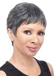 Short Wig | Human Hair Wigs Grey