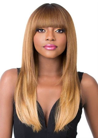 Long Synthetic Wigs | Straight Wigs