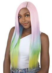Unicorn Corn Wigs | Synthetic Wigs Straight