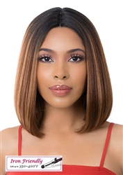 Skin Top with Center Part Wigs for Black Women