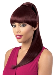 Motown Tress Half Wig and Ponytail