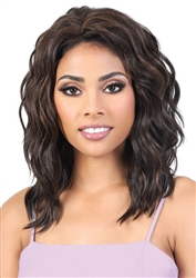 Synthetic Hair Half Wig