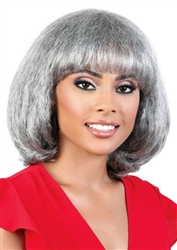Silver Synthetic Wigs