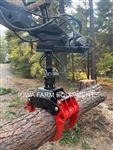 IFE 4T55 Log Grapple & HR3605FLG Rotator