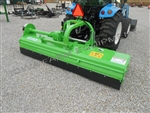 "Flail Mower, Mulcher: Peruzzo Bull 2200 87"" Cut, 24"" Hydraulic Offset, Cut 4"" Dia, 70-90HP!"
