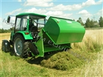 "Peruzzo 72"" Flail Collection Mower & Collector Hopper"