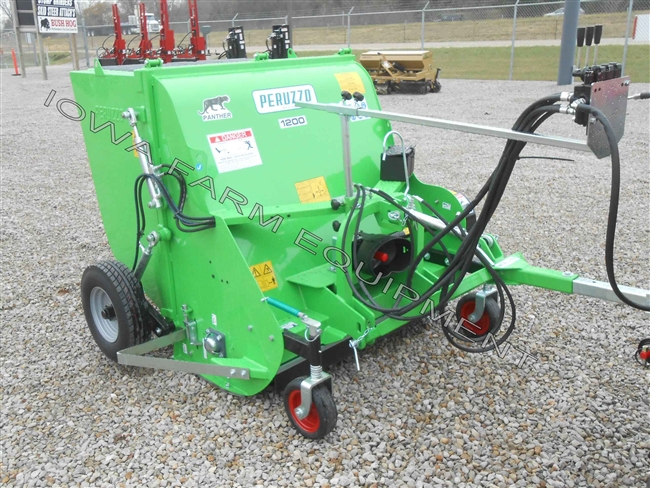 Collection Flail, Shredding Mower: Peruzzo Panther 1600 60