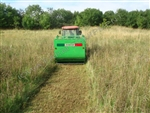 "Flail Collection Mower Attachment: Peruzzo Panther 1600 with 63"" Cut"