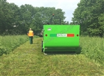 "Flail Collection Mower: Peruzzo Panther 1800, 72"" Cut,64cu' Cap,Ground Discharge: Tomato Plant, Produce, Vegetation Shredder & Collector!"