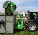 "Flail Collection Mower: Peruzzo Koala 1600, 60"" Cut, 32cu' Cap, High Lift Dump!"