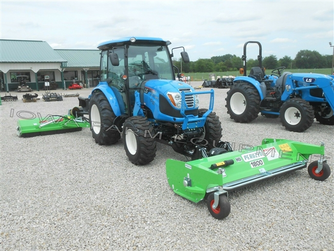 Front Mounted Flail Mower with Front LS Hitch: Peruzzo Scorpion 1800HD 72