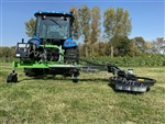 "Fence Row Trimmer/Mower,Tree Row Trimming, Peruzzo Side Cutter: TELESCOPES 24"": Heavy Duty & Professional Series w/Self Cont'd Hyd Sys!"