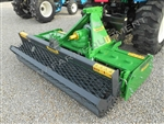 "Valentini 3-Point 81"" Power Harrow & Mesh Roller"