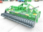Valentini U2500 3-Point Rotary Tiller w/Roller