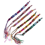 FINE WEAVE THIN COTTON FRIENDSHIP BRACELET