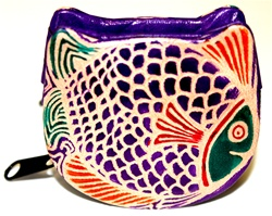 FISH CHANGE PURSE