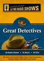Great Detectives Old Time Radio Shows