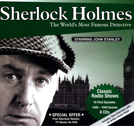 Sherlock Holmes (1948-1949 SEASON) 8 hour set,  Old Time Radio Shows