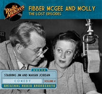 Fibber McGee and Molly - The Lost Episodes, Volume  4