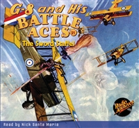 G-8 and His Battle Aces Audiobook # 21 The Sword Staffel