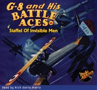 G-8 and His Battle Aces Audiobook #26 Staffel Of Invisible Men