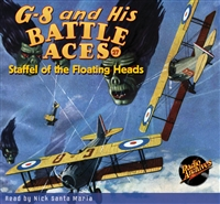 G-8 and His Battle Aces Audiobook # 27 Staffel of the Floating Heads