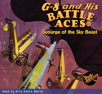 G-8 and His Battle Aces Audiobook #31 Scourge of the Sky Beast